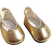 schoentjes 35-45 cm goud