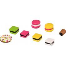 boetseerklei-gum-set tasty candies junior 7-delig