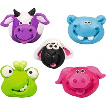 boetseerklei-gum-set funny animals junior 7-delig