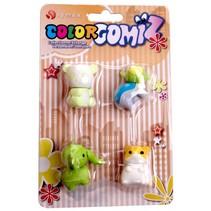 gummen Color Gomiz 4-delig multicolor (#2)