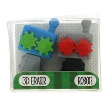 gummen robots 5 cm multicolor 2 stuks