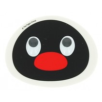 gum Pingu wit/zwart 8x6x1 cm