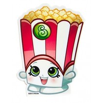 Shopkins reuze popcorngum 10 x 6 cm