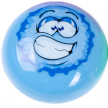 raamklimmer smiley 4 cm blauw