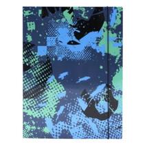 elastomap junior Riff A4 zwart/blauw