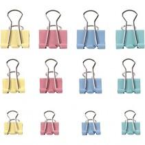 Foldback clips metaal 30 stuks