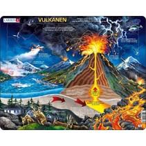 legpuzzel Maxi Vulkanen 70 stukjes