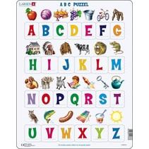legpuzzel Maxi ABC met afbeeldingen 26 stukjes