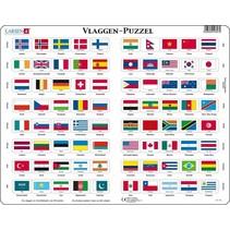 legpuzzel Maxi Vlaggen van de Wereld 80 stukjes