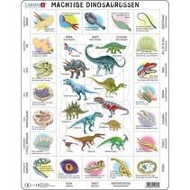 legpuzzel Maxi Dino kenmerken 35 stukjes
