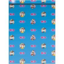 kaftpapier K3 70 x 100 cm 2 stuks blauw