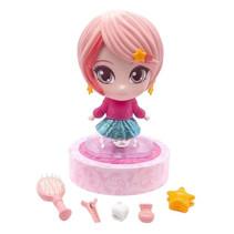 superfancy kaphoofd Fancy meisjes 29,5 cm roze 6-delig