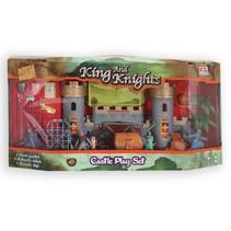 King and knights kasteel met accessoires 9-delig