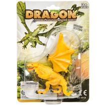speelfiguur draak jongens 18,5 cm geel