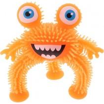 driepotig monster 10 cm oranje
