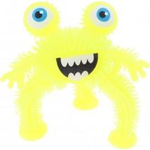 driepotig monster 10 cm geel