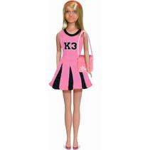 tienerpop K3 outfit met tas roze