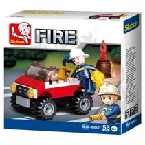 Fire: Brandweer Jeep (M38-B0621)