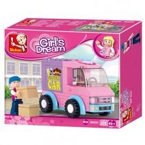 Girls Dream: bezorgwagen (M38-B0520)