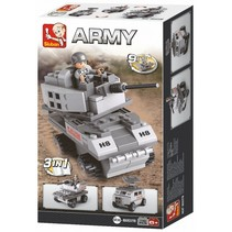 Army: pantservoertuig 3-in-1 (M38-B0537B)