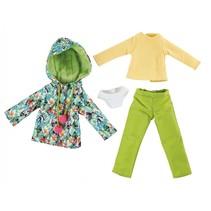 Winter outfit tropical tienerpop kledingset 4-delig