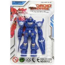 gevechtsrobot Android Emprise jongens 9 cm blauw