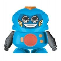 speelfiguur Magic Robot 10 cm blauw