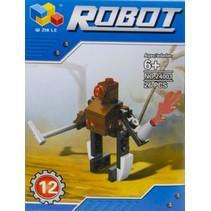 bouwset robot 26-delig (24001-12)