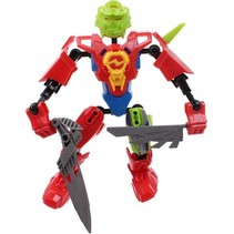 robot Earth Warrior 18 cm rood