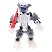 robot Thunderbolt Warrior Bright Juggernaut 13 cm wit