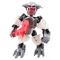 robot Thunderbolt Warrior Silver Pioneers 13 cm grijs