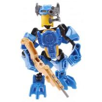 robot Thunderbolt Warrior Sapphire Stranglehold 13 cm blauw