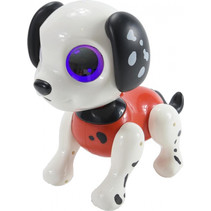 interactieve robot Robo Smart Puppy 22 cm rood
