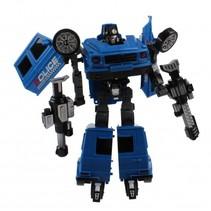 Deformation robot Swat Police blauw