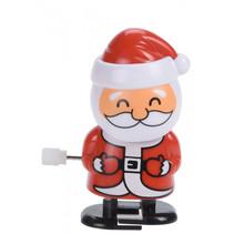 kerstman opwindbaar junior rood/wit/zwart