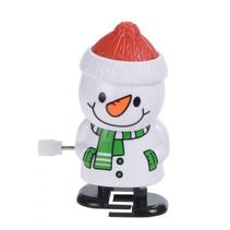 sneeuwpop opwindbaar junior wit/rood/groen