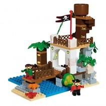 bouwset piraten uitkijktoren 116-delig
