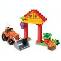 bouwset mini-boerderij 21-delig