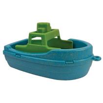 motorboot Anbac junior 16 x 9,5 x 9,5 cm blauw/groen