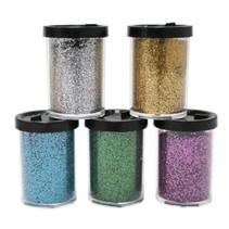 strooibussen glitters Metalic junior 17 gram 5 stuks