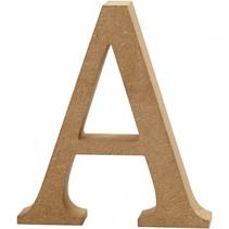 letter A MDF 13 cm