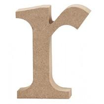 letter r MDF 8 cm