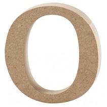 letter o MDF 8,4 cm