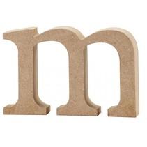 letter m MDF 8 cm