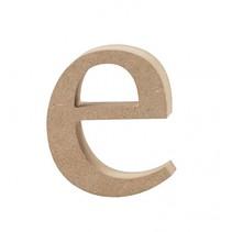 letter e MDF 8,4 cm