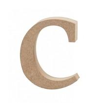 letter c MDF 8,4 cm
