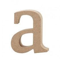 letter a MDF 8,2 cm
