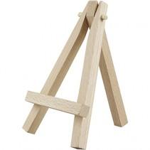 mini schilderezel hout 11,5 cm