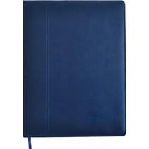 schetsboek A5 papier/kunstleer blauw