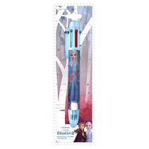meerkleurenpen Frozen 2 meisjes 21 cm blauw